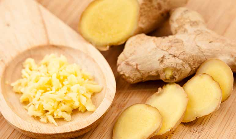 Remède maison pour la migraine au gingembre