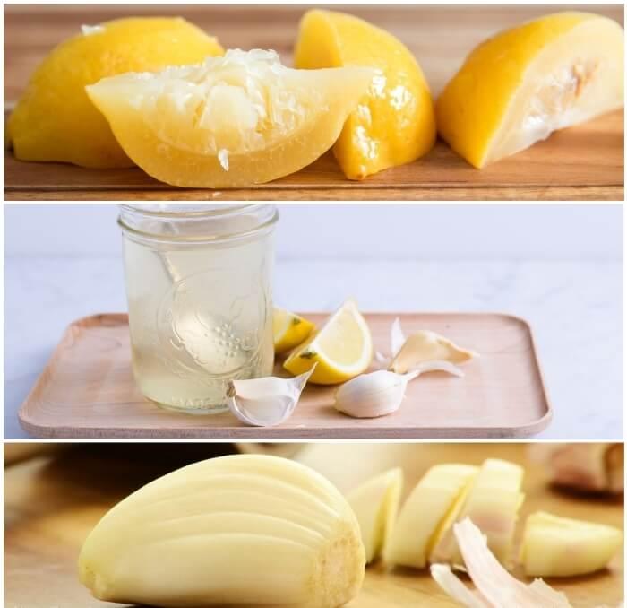 Propriétés de l'ail au citron